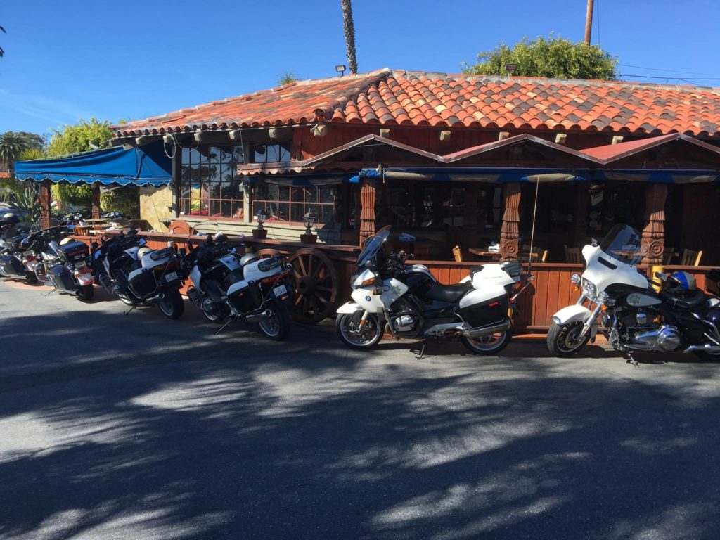 Our Protectors (Highway Patrols) Celebrating at El Mariachi Restaurant