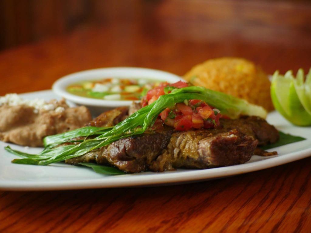 Carnitas Plate at El Mariachi Restaurant