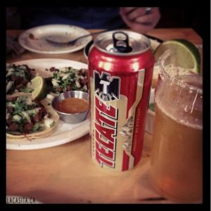 Taco Tuesday and Tecate Beer El Mariachi Restauranr